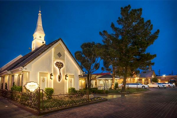 Las Vegas Wedding Chapel Where Dennis Rodman and Carmen Electra Got Married
