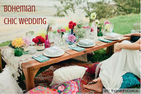 Boho-Chic Weddings :: Bohemian Weddings