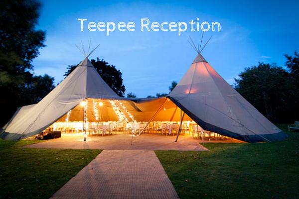 Teepee Receptions :: Unique Wedding Venues :: Outdoor Receptions