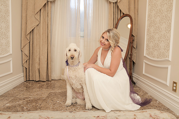 Dogs in Weddings | Wedding Photo ideas with Pets