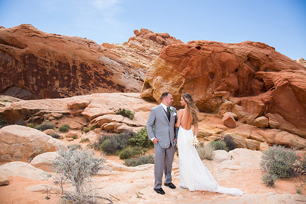 Las Vegas Wedding Photo Ideas | Desert Photo Ideas