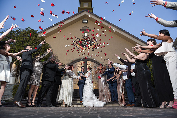 Flower Shower Photo Ideas | Best Las Vegas Chapel