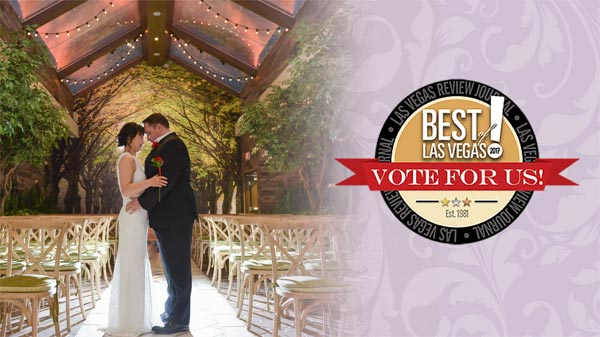 Best Place to Get Married in Las Vegas | Chapel of the Flowers | Best of Las Vegas Poll