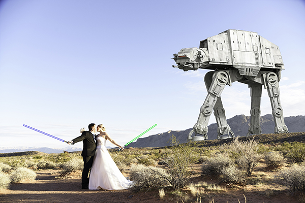Star Wars Wedding Photos | Star Wars Wedding Ideas
