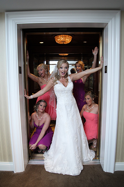 Bridal Party Wedding Photos | Pre-Ceremony Photo Ideeas