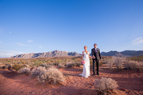 Rustic Weddings in Las Vegas | Valley of Fire