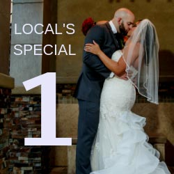 Free Romantic Upgrade | Las Vegas Wedding Specials, Promos, and Deals