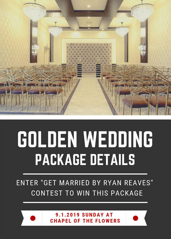 Golden Wedding Package | VGK Contest