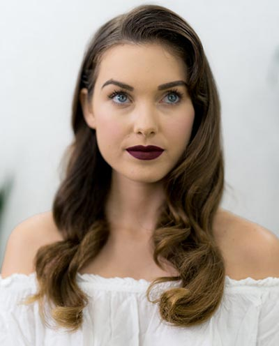Bold Glam | Fall Wedding Makeup | Fall Wedding Ideas