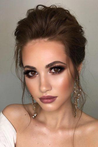 Smoky Makeup | Fall Wedding Makeup Ideas | Fall Wedding Ideas