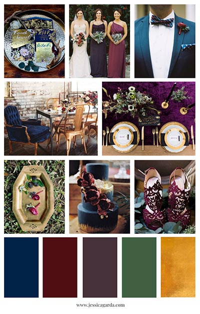Bright Fall Wedding Colors | Wedding Color Palette | Fall Wedding Ideas