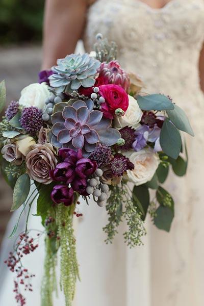 Succulent Bouquet | Bridal Bouquet | Fall Wedding Flowers | Fall Wedding Ideas