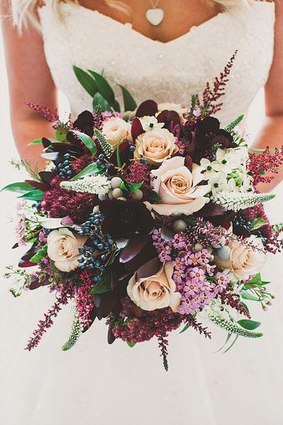 Fall Garden Bouquet | Wedding Bouquet | Fall Wedding Flowers | Fall Wedding Ideas