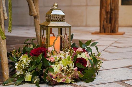 Lantern Décor for Weddings | Fall Wedding Décor | Fall Wedding Aisle | Fall Wedding Ideas