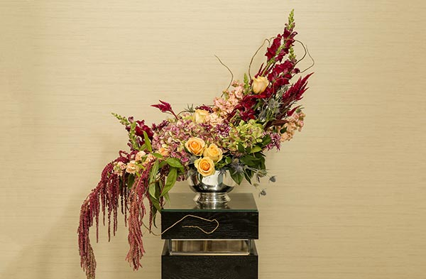 Fall Ceremony Décor Altar Spray | Fall Wedding Decor | Fall Wedding Ideas
