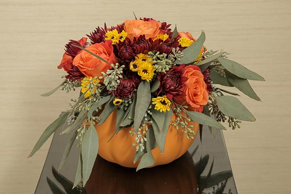 Pumpkin Wedding Décor | Pumpkin Centerpiece | Fall Weddings | Fall Wedding Decor | Fall Wedding Ideas
