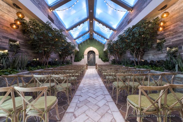 Garden Wedding Venue | Ryan Reaves at Wedding in Las Vegas | Golden Knights | Chapel of the Flowers