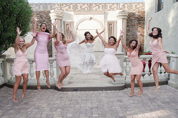 Leap Day Weddings | Bridesmaids | Cute Wedding Photo Idea