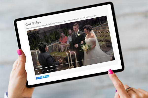 Plan a Virtual Wedding | Online Weddings
