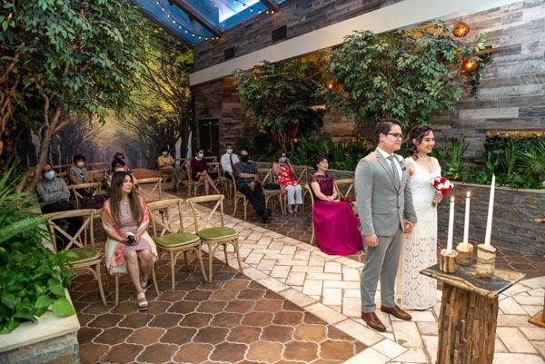 Garden Weddings | Las Vegas Weddings During Coronavirus | CDC Guidelines to Keep Customers Safe