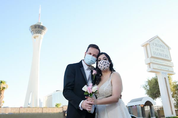 Las Vegas Weddings During Coronavirus | CDC Guidelines to Keep Customers Safe