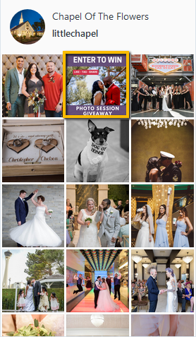 Find Post | Wedding Contest | Instagram Giveaway | Win a Photo Session