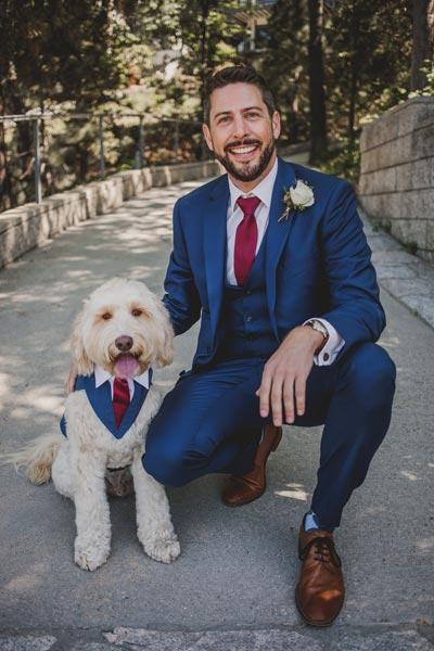 Dog Wedding Harness | Dog Wedding Ideas