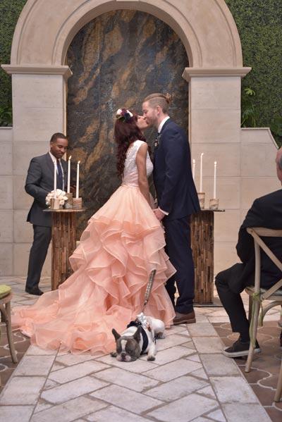 Dog in Wedding - Funny Wedding Photos | Dog Wedding Ideas
