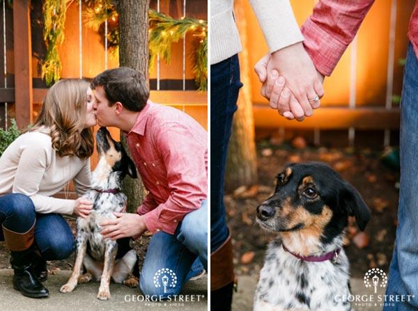 Dog Engagement Photo Ideas | Dog Wedding Ideas