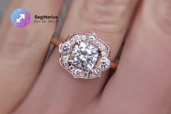 Sagittarius Engagement Ring | Zodiac Engagement Rings | Engagement Rings Based on Horoscope