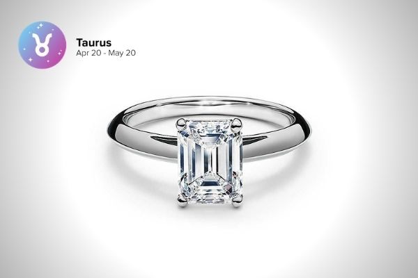 Taurus Engagement Ring | Zodiac Engagement Rings | Engagement Rings Based on Horoscope