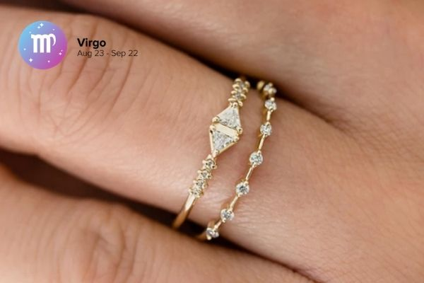 Virgo Engagement Ring | Zodiac Engagement Rings | Engagement Rings Based on Horoscope