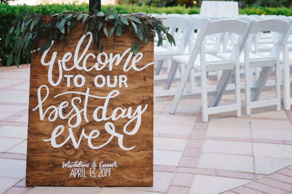 Best Day Ever Sign | Best and Worse Wedding Dates for 2021 & 2022 | 2021 & 2022 Lucky Wedding Dates
