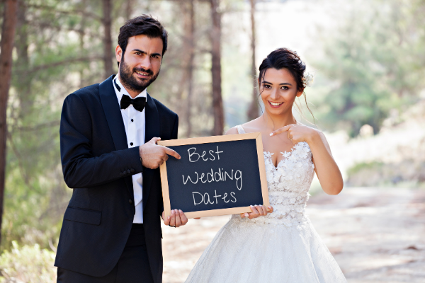 Best and Worse Wedding Dates for 2021 & 2022 | 2021 & 2022 Lucky Wedding Dates