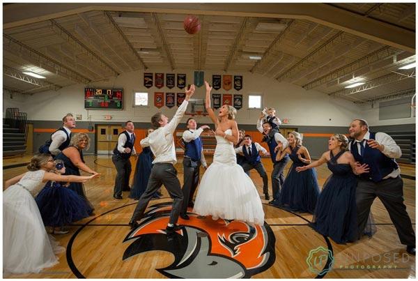 Basketball Wedding Ideas | Sports Themed Wedding Ideas