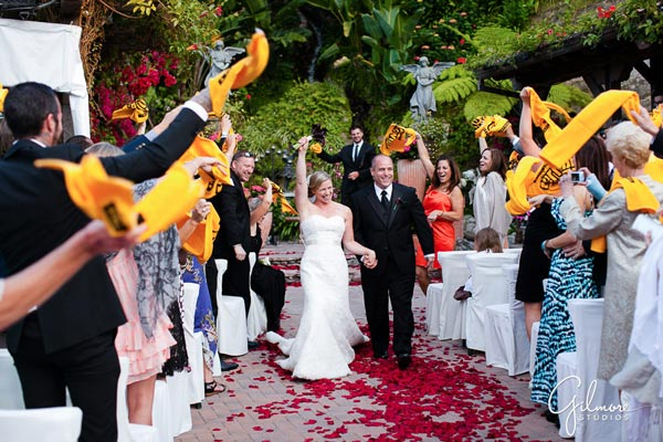 Wedding Rally Towel | Sports Themed Wedding Ideas