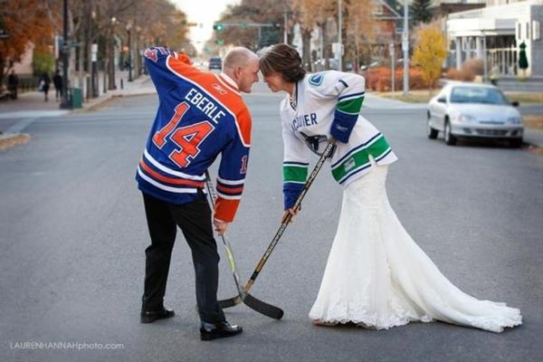 Hockey Wedding Ideas | Sports Themed Wedding Ideas